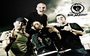 Wallpaper Rise Against