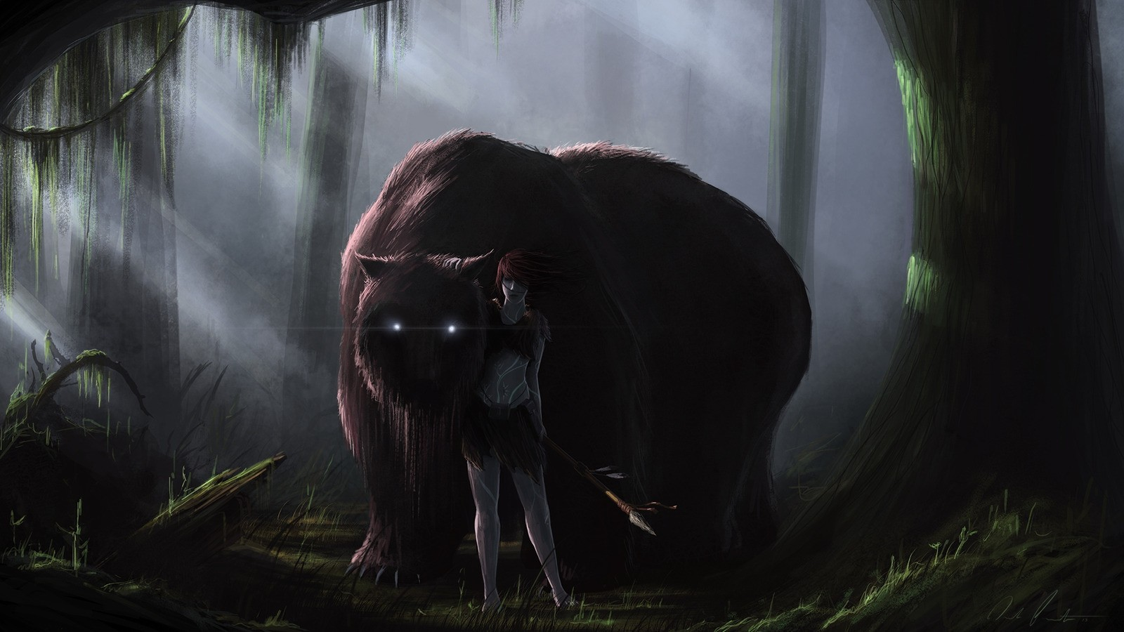 Widescreen Wallpapers Of Scary Forest New Photos