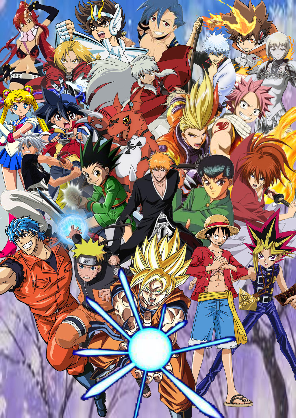 Top Shonen Jump Cover In High Quality Goldwallpapers Com