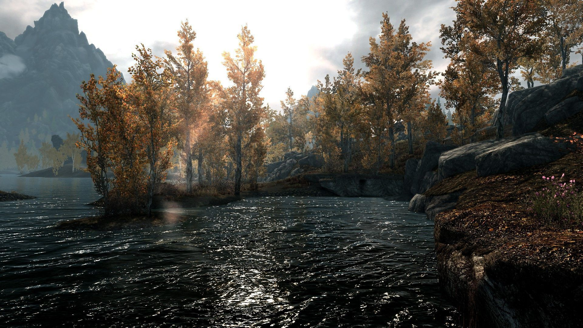 Widescreen Wallpapers Of Skyrim Fine Background