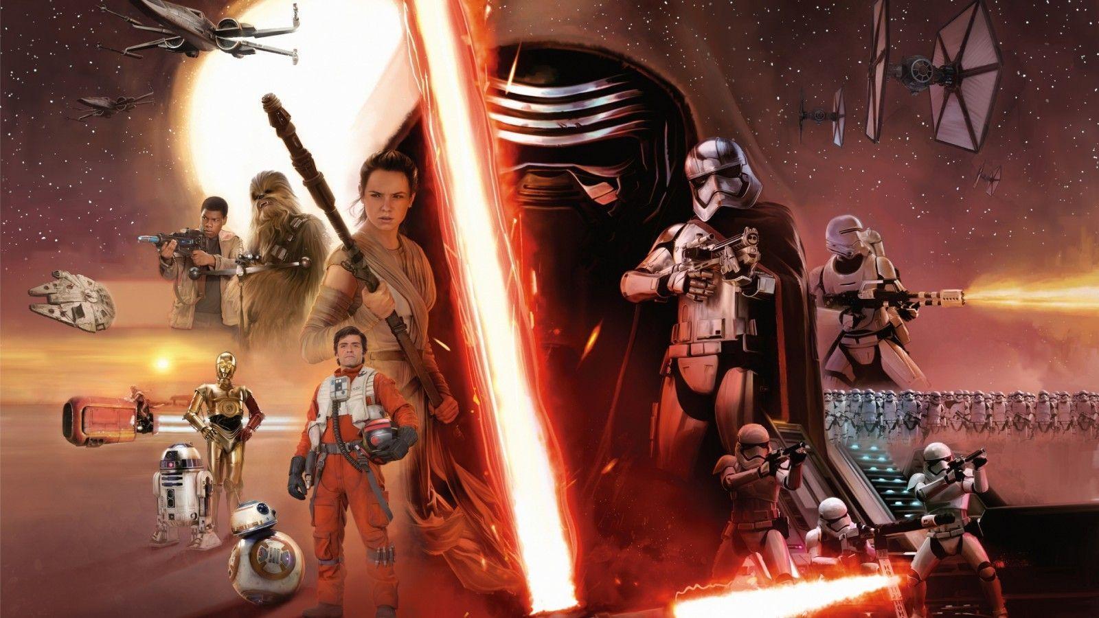 Star Wars Dual Screen Wallpaper For Desktop