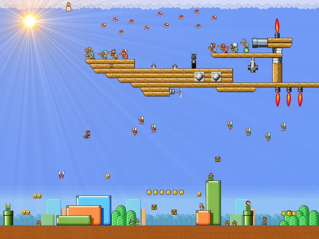Super Mario Bros 3 Hd Wallpapers Joana Becerro