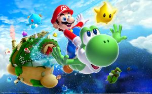 Super Mario Galaxy Wallpaper HD