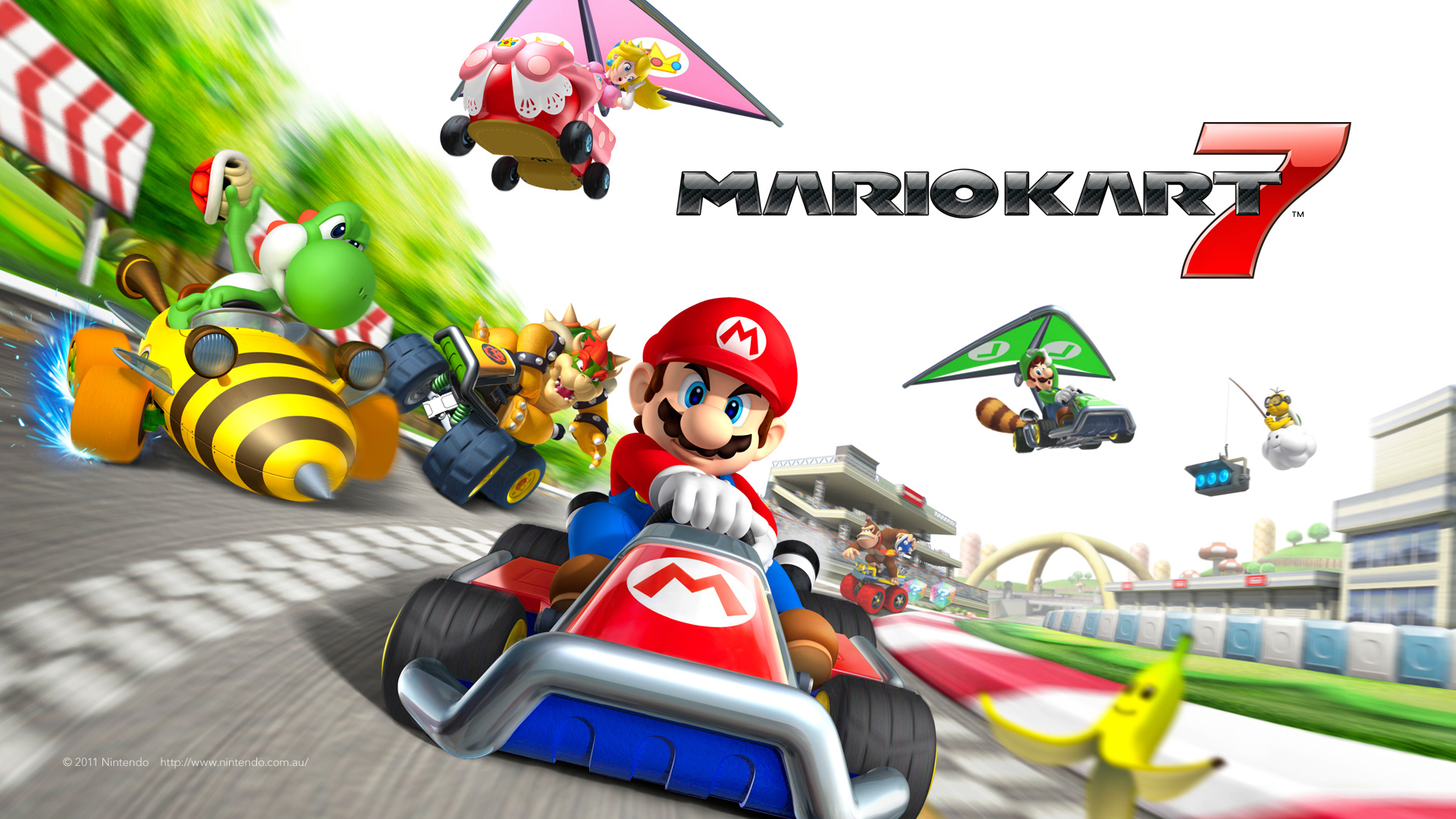 Top Super Mario Kart Wallpapers In High Quality Goldwallpapers Com