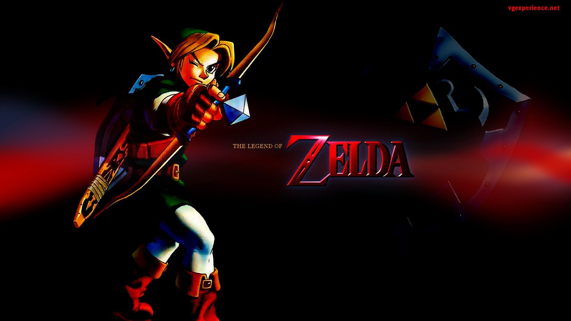 30 Wallpaper In High Quality The Legend Zelda Ocarina Time By