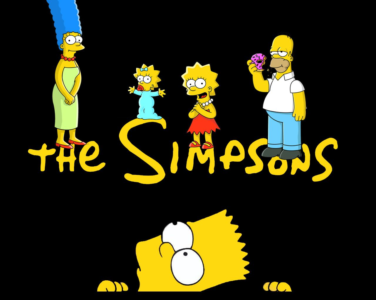 High Definition The Simpsons Family Wallpaper Hq Definition Photos