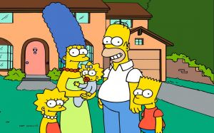 The Simpsons Family Pic