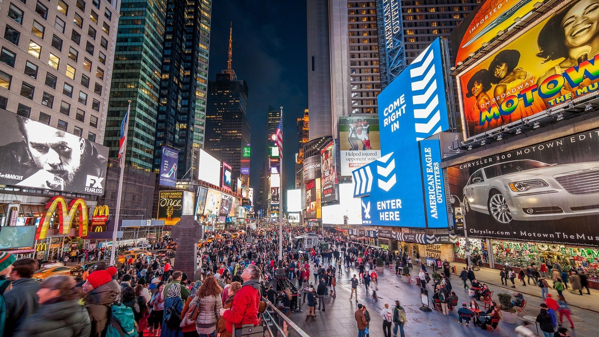 High Definition Time Square Wallpaper Widescreen Images