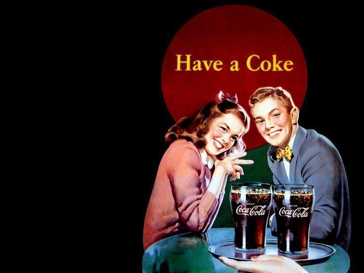 vintage coca cola wallpaper 017