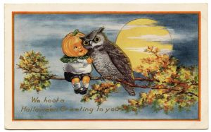 Vintage Halloween Wallpaper