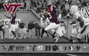 Virginia Tech Football Pic