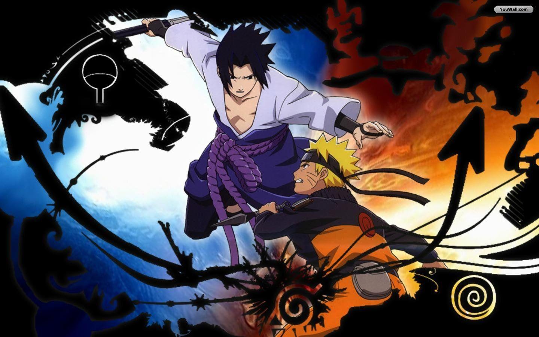 Mobile Naruto Sasuke HQFX