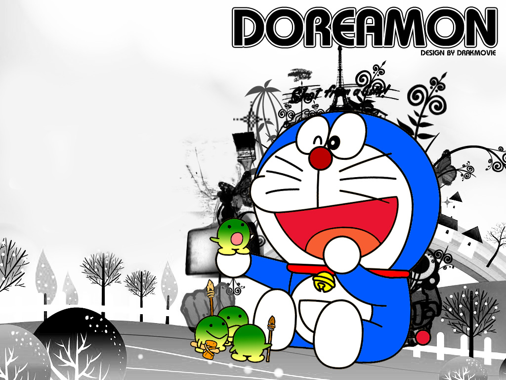 High Definition Doraemon Pancho Batrop