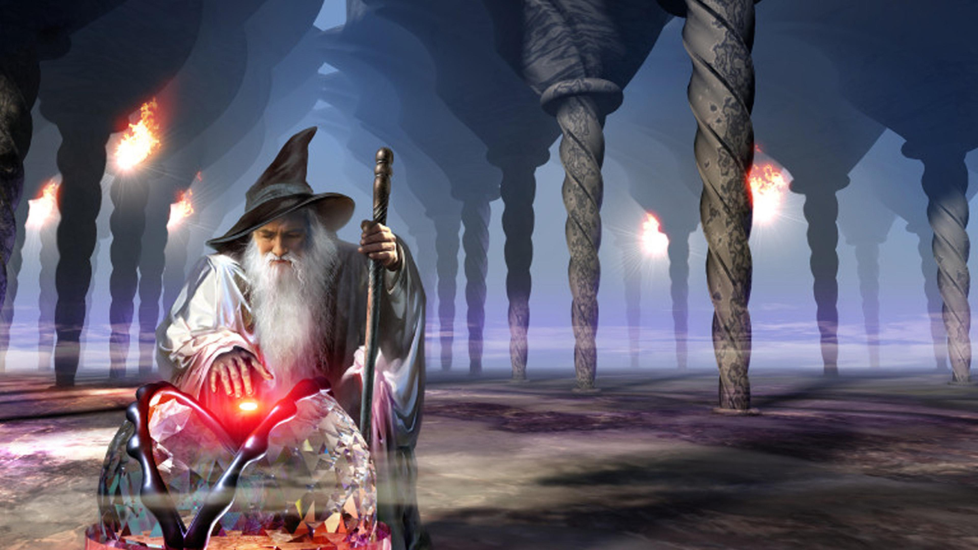30 Beautiful Wizard Wallpapers Hd Quality