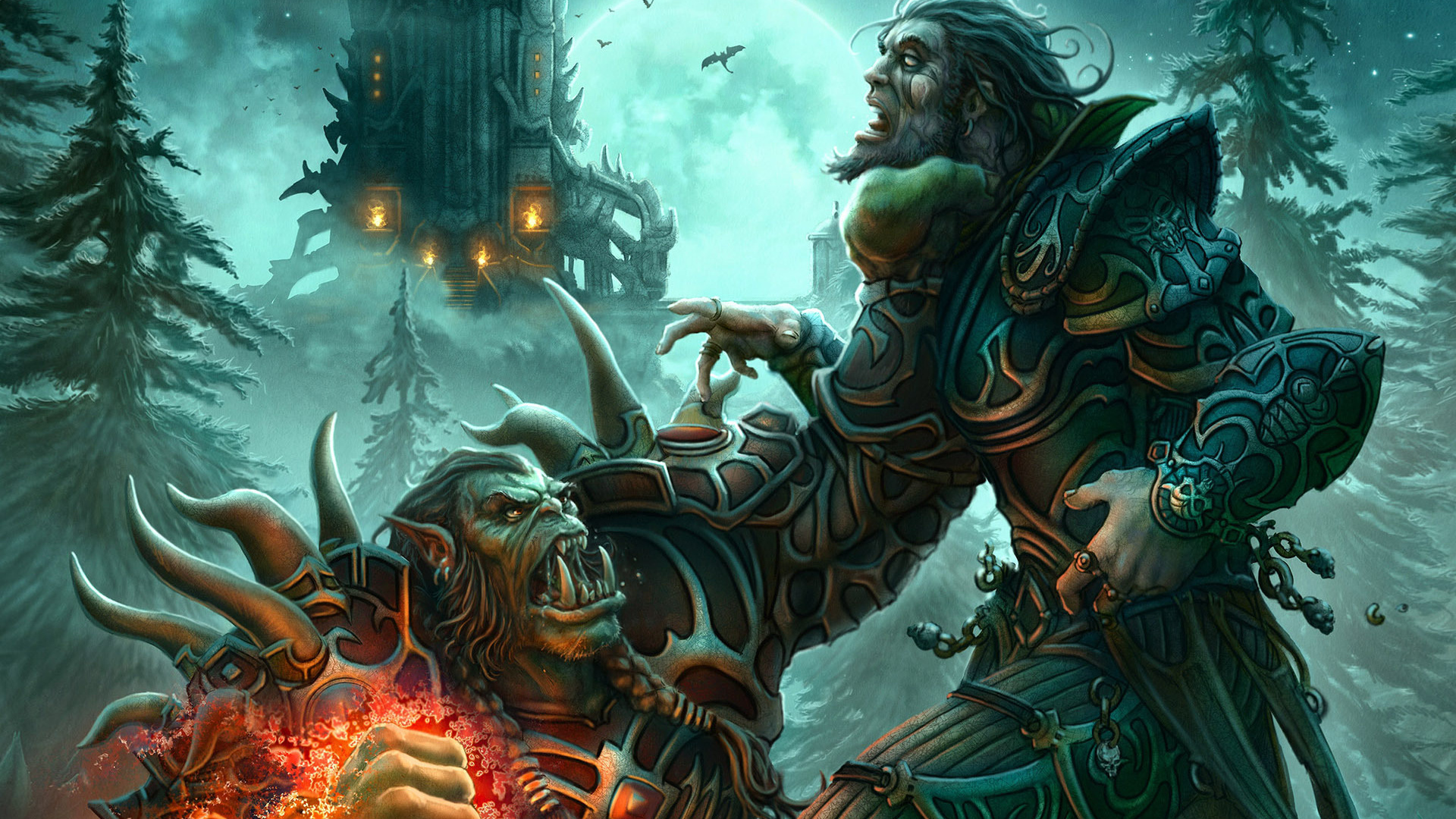 Widescreen Wallpapers Of World Warcraft Creative Images