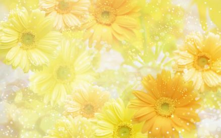 Yellow Flower Designs Pic