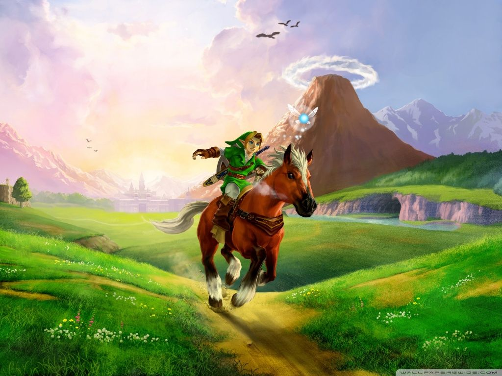 the legend zelda: ocarina time 2016 100% quality hd